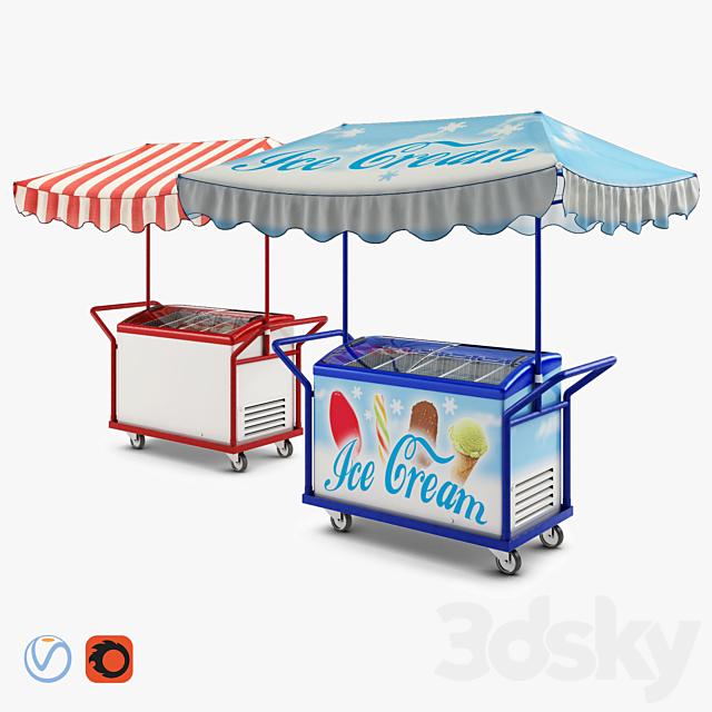 Juka freezer trolley