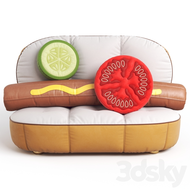 Seletti HOT DOG SOFA