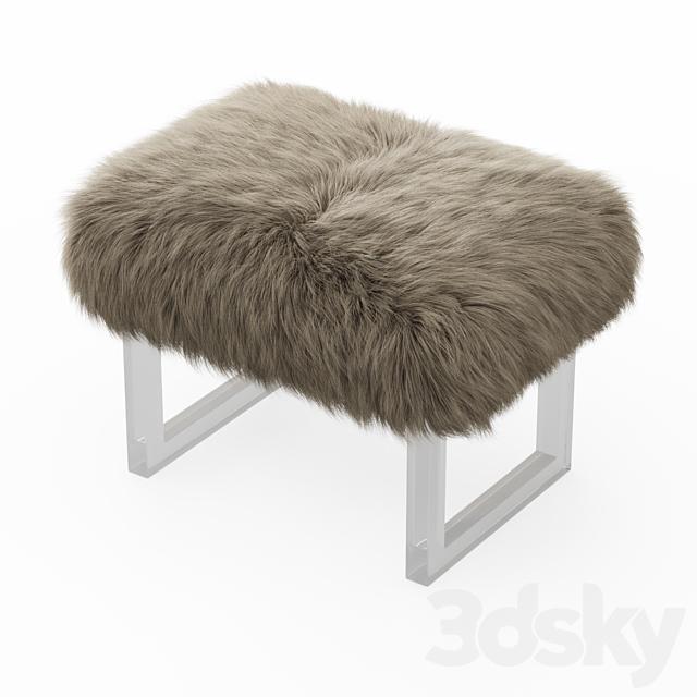 Sheepskin bench fur