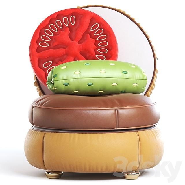 Seletti Burger Chair