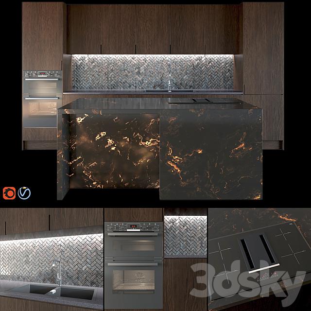 Modern Kitchen 001