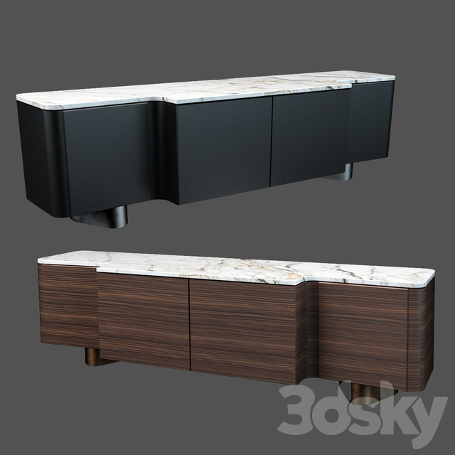 Sideboard & Chest of drawer 01