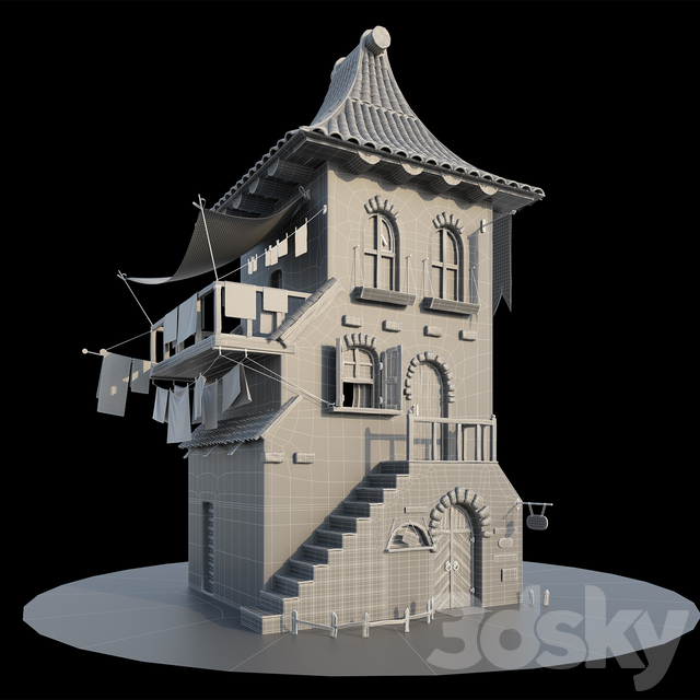 Multifunctional medieval center