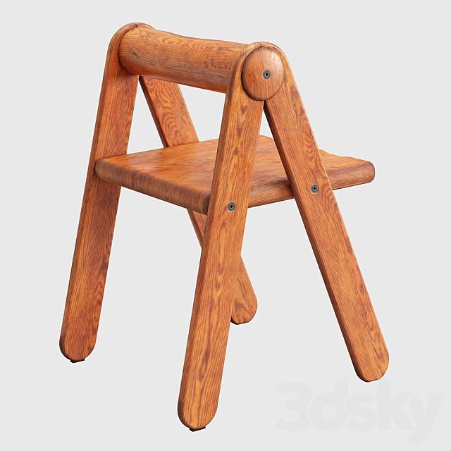 Pierre Grosjean Rare Child Chair