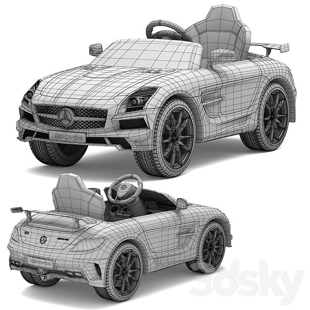 Children's electric car Mercedes-Benz SLS AMG
