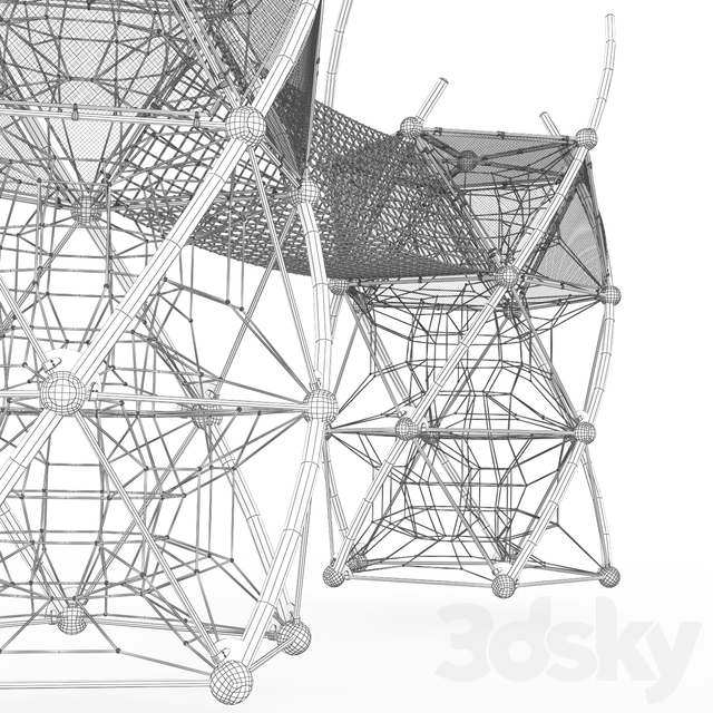 Game complex Berliner DNA Tower