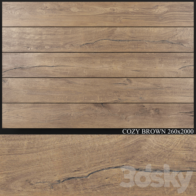 Flaviker Cozy Brown 260x2000