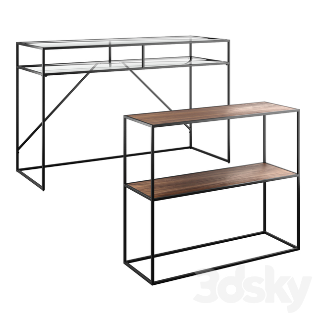 Watford Console and Sybil Side Table