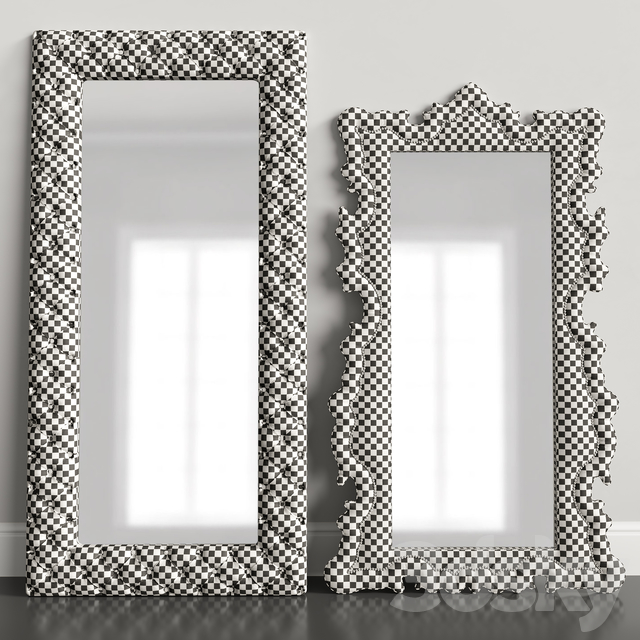 Classic mirror set