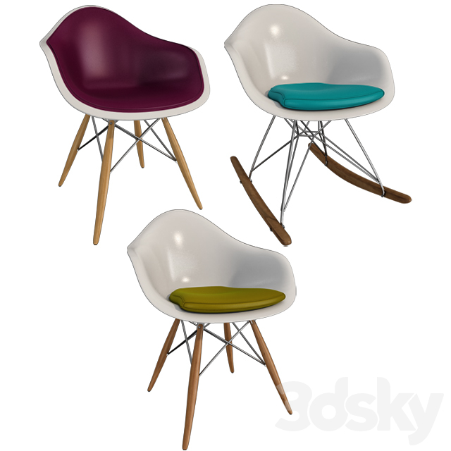 Eames / Chairs Eames Chairs (Part I)