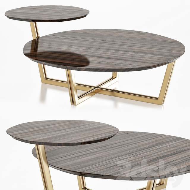 Bamax POESIA DOUBLE COFFEE TABLE