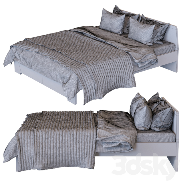 IKEA Askvoll Bed