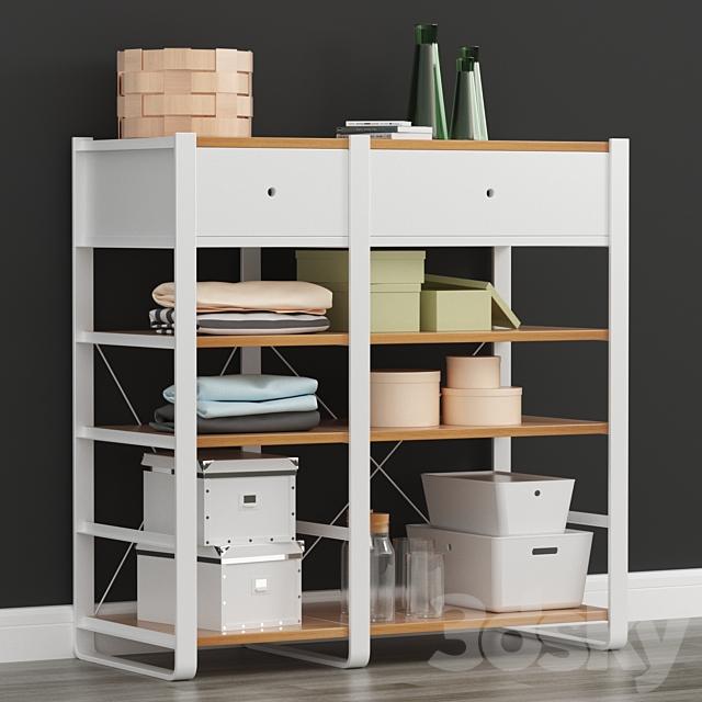 Ikea ELVARLI 2 Sectional