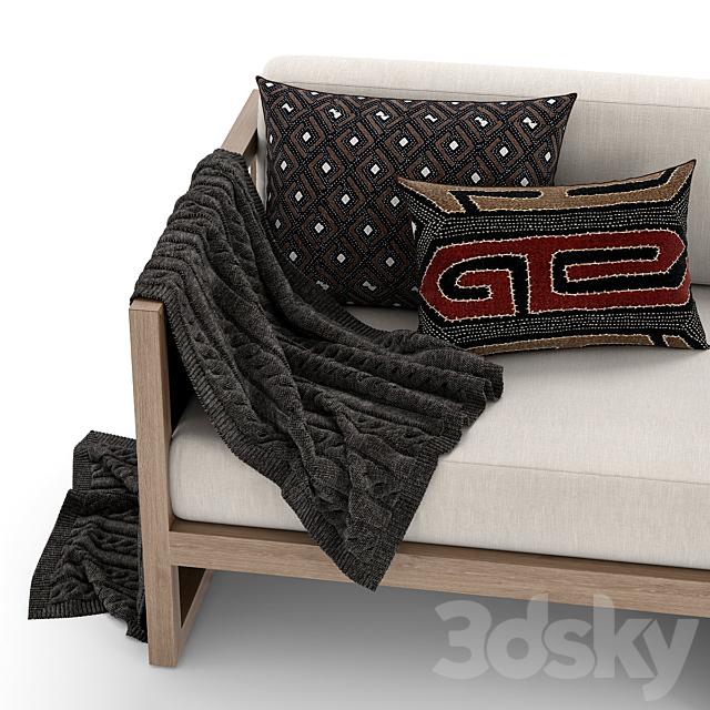 RH Outdoor Aegean sofa