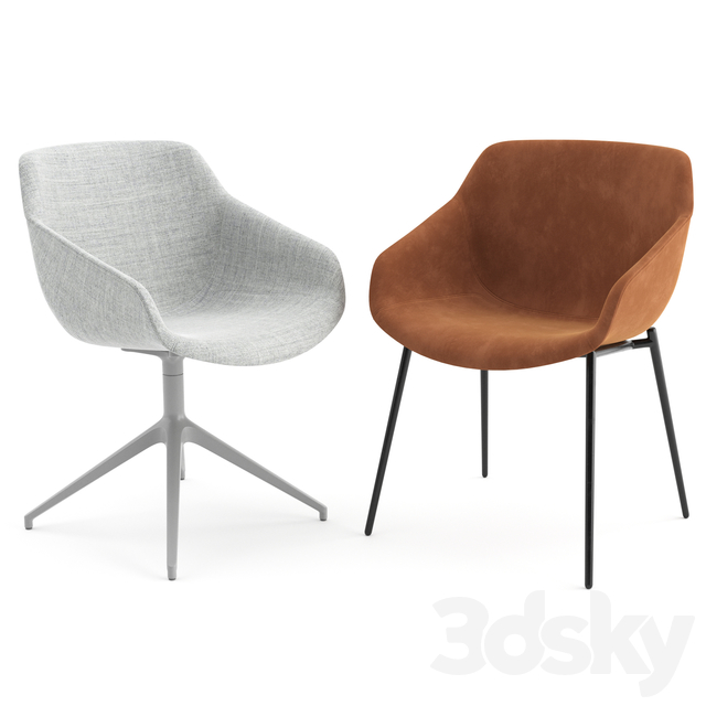 3d models Chair   Vienna Chairs by Boconcept