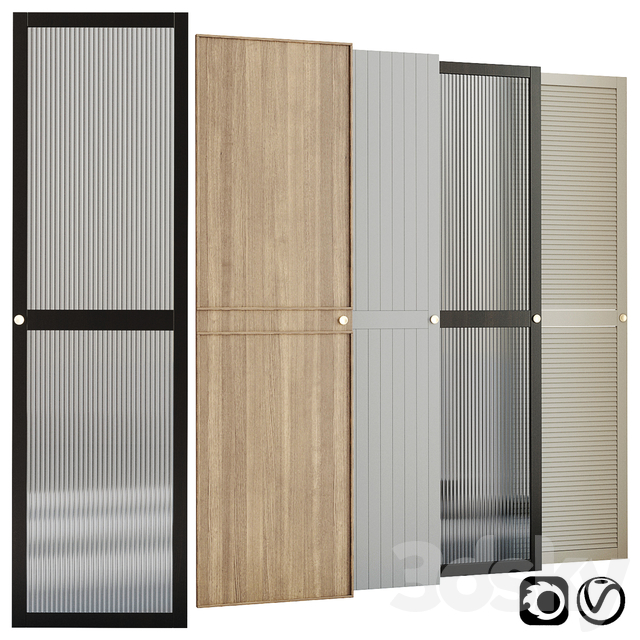 Wardrobe doors collection