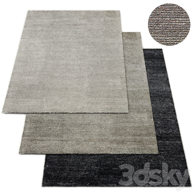 Corduro Hand-Knotted Rug RH Collection