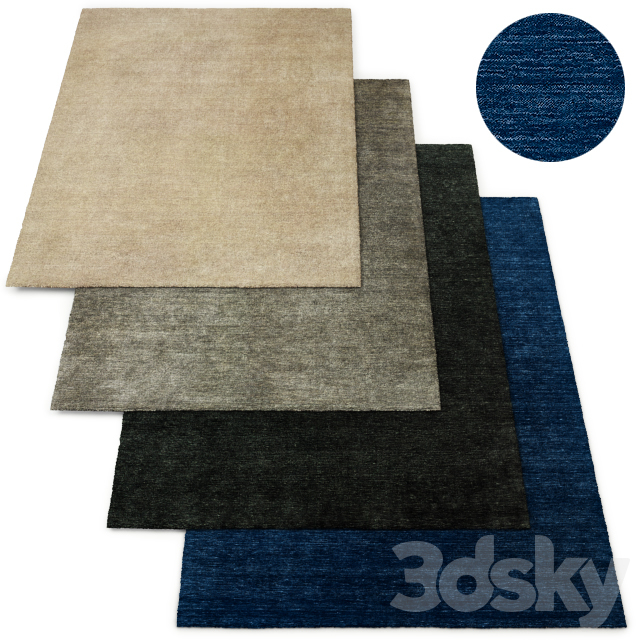 Rae Handwoven Wool Rug RH Collection