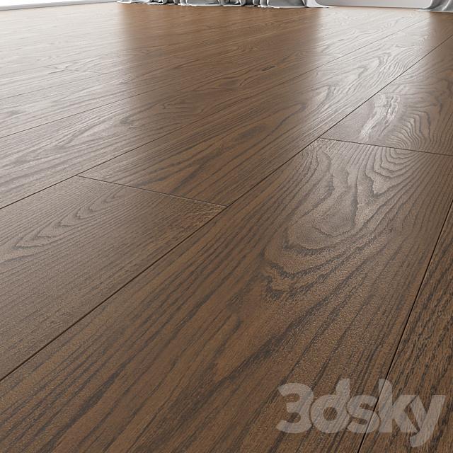 Wood Floor Oak (Black Walnut Brushed)