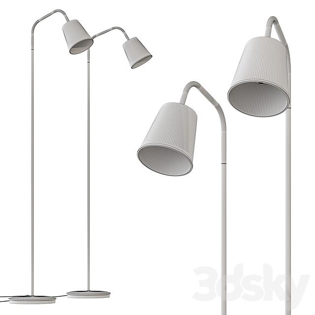 Crane Floor Lamp CB2 Exclusive