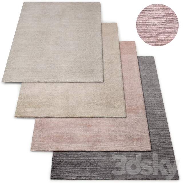 Reeve Stripe Handwoven Rug RH Baby and Child Collection