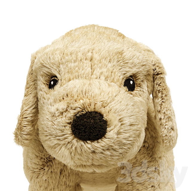 GOSIG GOLDEN Soft toy dog, golden retriever