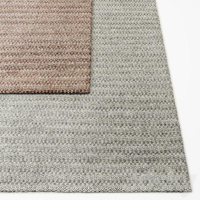 Geo Handwoven Flatweave Rug RH Baby and Child Collection