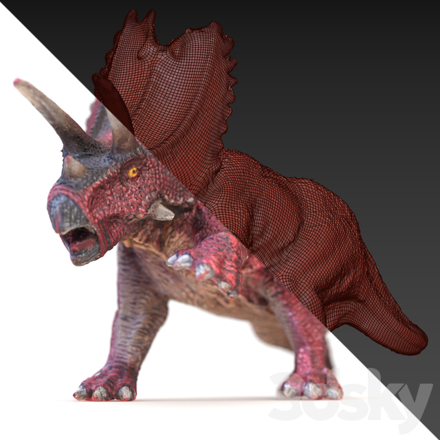 Pentaceratops toy