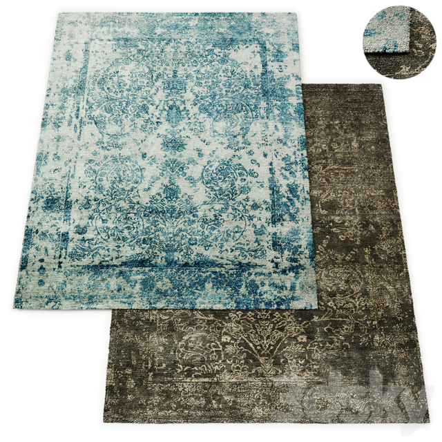 Fontaine Hand-Knotted Rug RH Collection