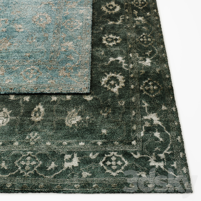 Roma Hand-Knotted Rug RH Collection