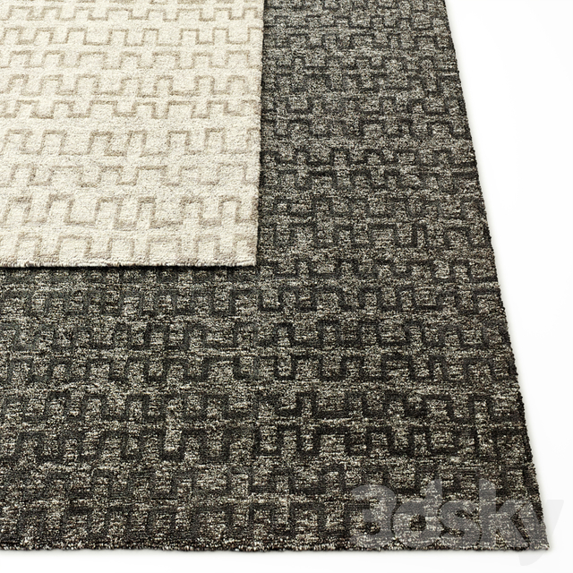 Stilo Hand-Knotted Wool Rug RH Collection