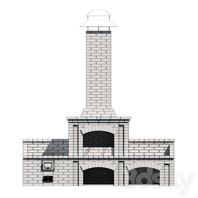 Barbecue oven