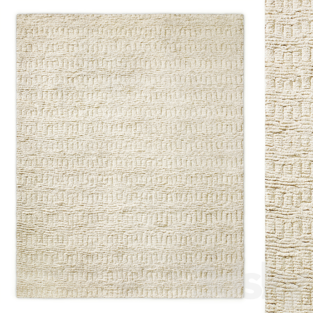 Tari Performance Moroccan Hand-Knotted Rug Restoration Hardware