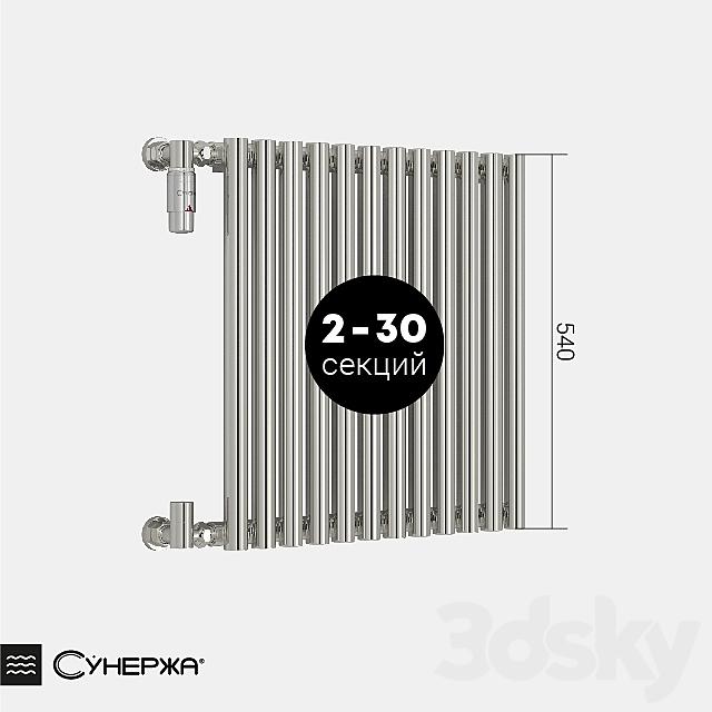 "Heating radiator Sunergea ""Estet"" single-row 500"