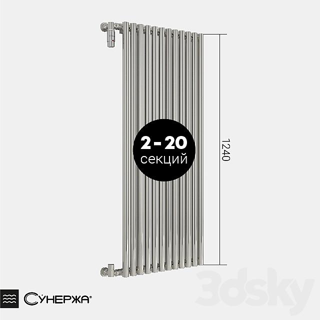 "Heating radiator Sunerazh ""Estet"" single-row 1200"