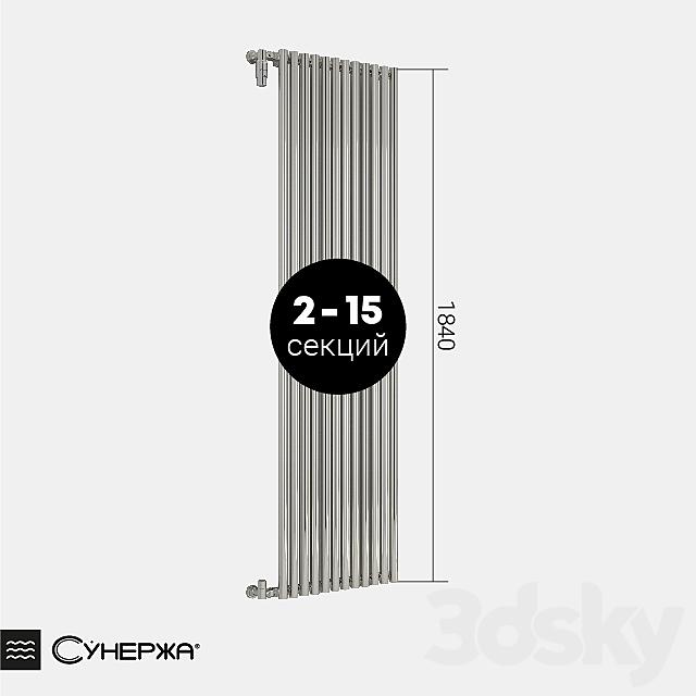 "Heating radiator Sunergea ""Estet"" single-row 1800"