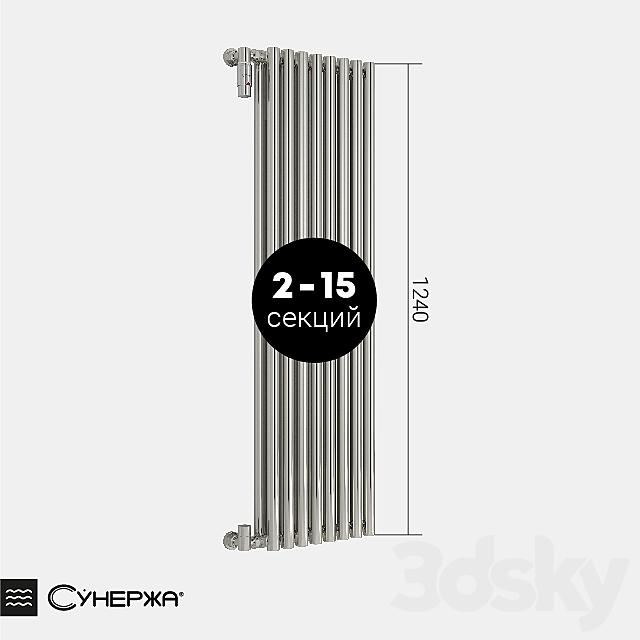 "Heating radiator Sunergea ""Estet"" double-row 1200"