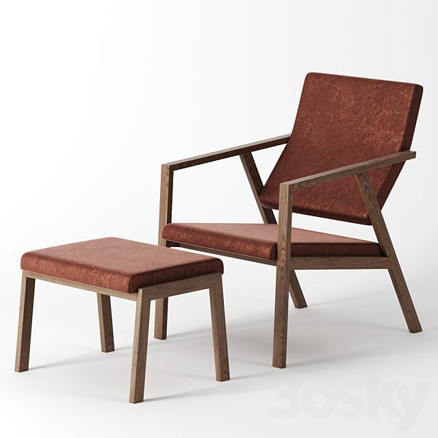 Lesesessel solo armchair by Schmidinger