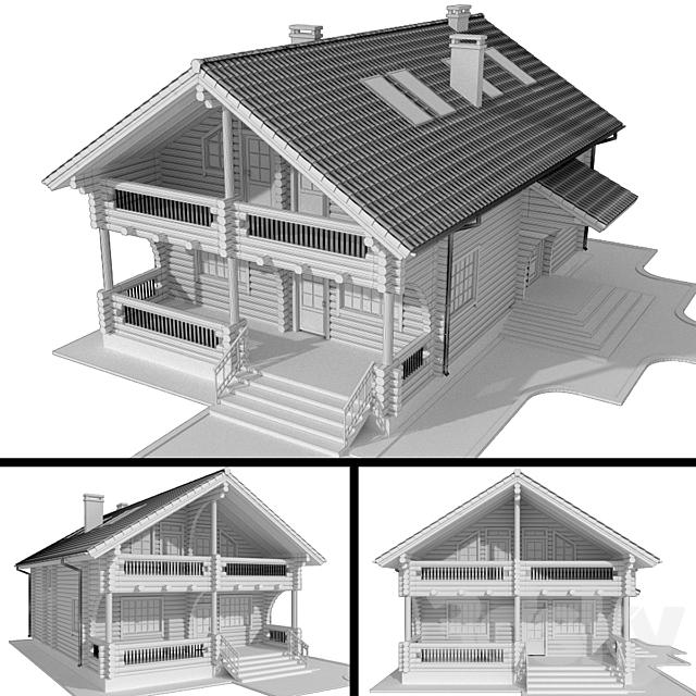 Log house (logs)