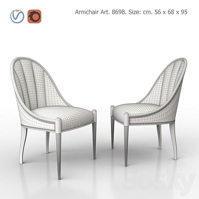 Chair upholstered. SALDA. Art8698.