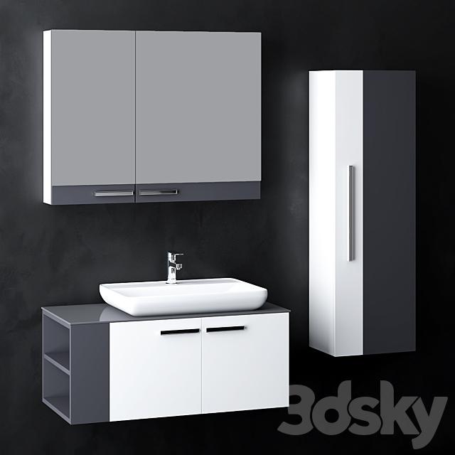 Modern Bathroom Cabinet | No. 044