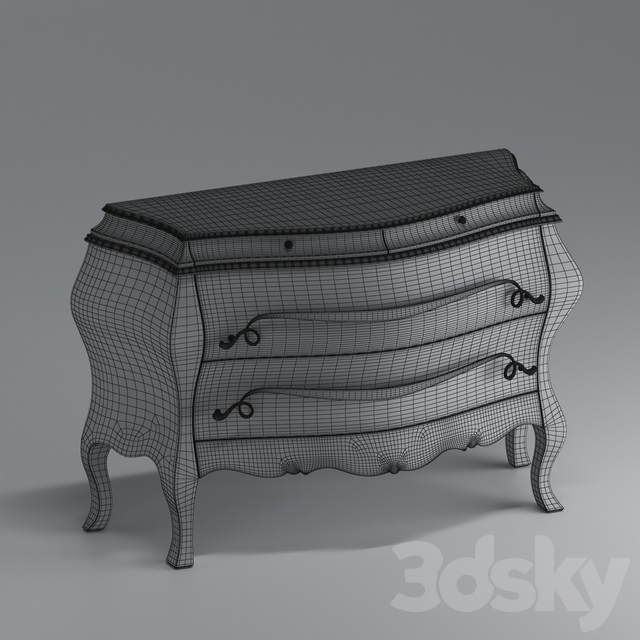 Chest of drawers Corte Zari Maya