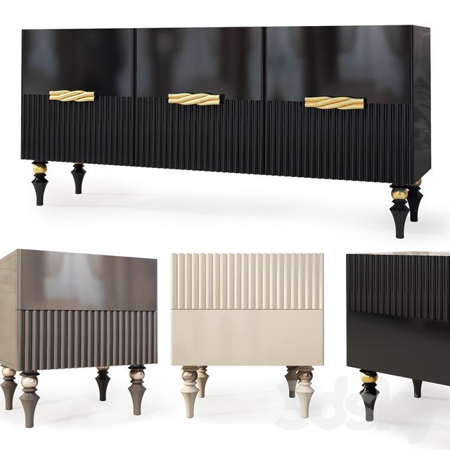 Chest and nightstand Auronzo. Nightstand, sideboard by Ambicioni