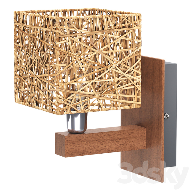 Wall lamp Alfa ABAKA BEZ