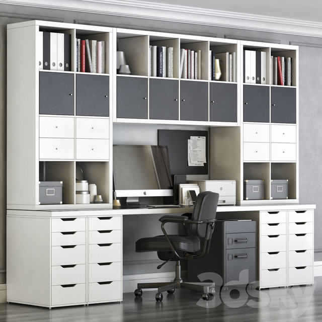 Office Furniture Ikea Kallax