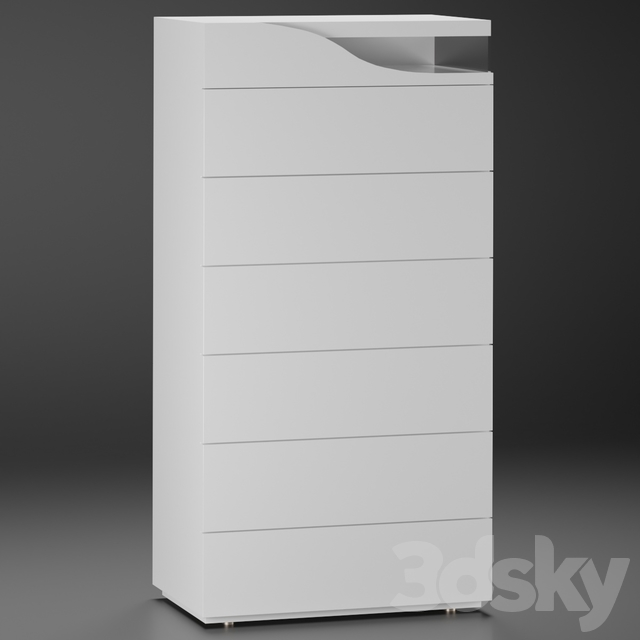 SEGNO | High Chest of drawers By Reflex