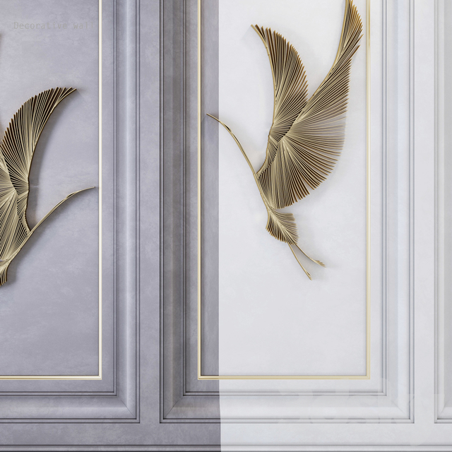 Decorative wall_waves_fly2