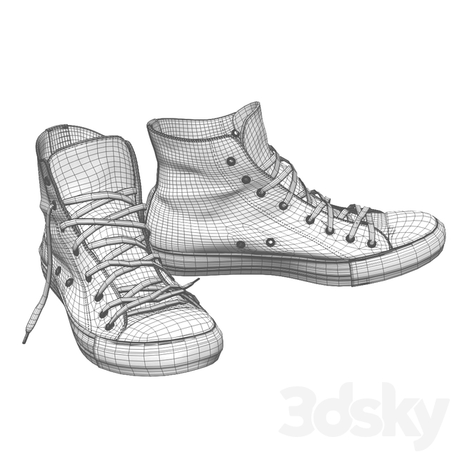 Vans and converse shoes