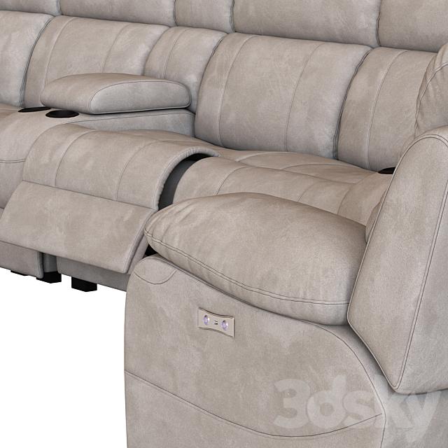 Modular Sofa with Foot lift