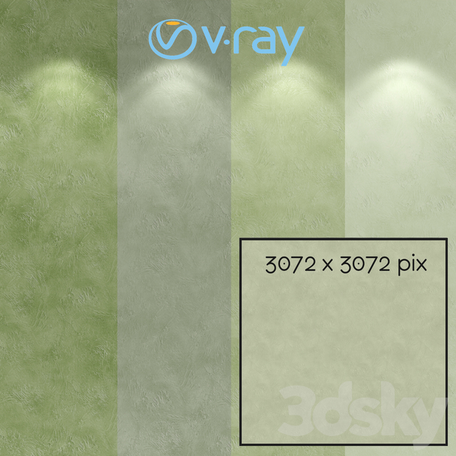 Decorative plaster, single-layer version 706